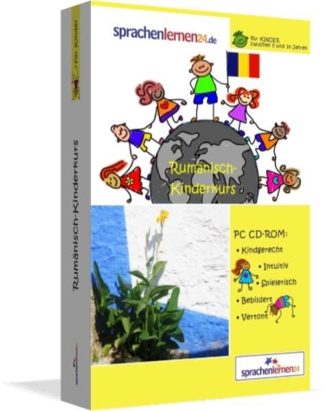 Sprachenlernen24.de Rumänisch-Kindersprachkurs - Coverbild