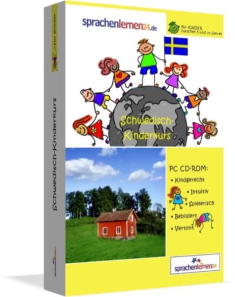 Sprachenlernen24.de Schwedisch-Kindersprachkurs - Coverbild