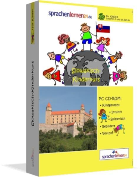 Sprachenlernen24.de Slowakisch-Kindersprachkurs - Coverbild