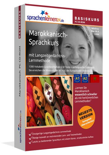 Sprachenlernen24.de Marokkanisch Basis PC CD-ROM - Coverbild