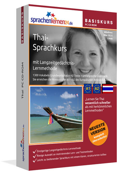 Sprachenlernen24.de Thai Basis PC CD-ROM - Coverbild