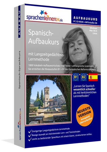 Sprachenlernen24.de Spanisch-Aufbau-Sprachkurs - Coverbild