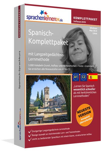 Sprachenlernen24.de Spanisch-Komplettpaket (Sprachkurs) - Coverbild