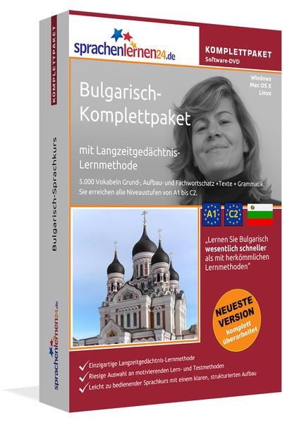 Sprachenlernen24.de Bulgarisch-Komplettpaket (Sprachkurs) - Coverbild