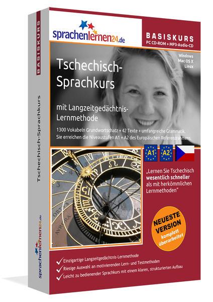 Sprachenlernen24.de Tschechisch-Basis-Sprachkurs - Coverbild
