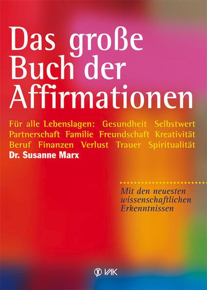 Das große Buch der Affirmationen - Coverbild