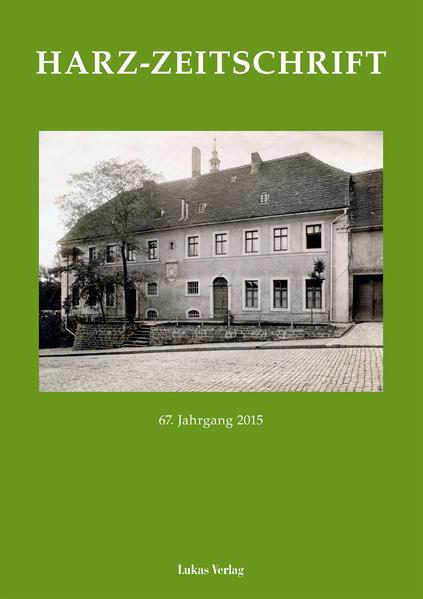 Harz-Zeitschrift - Coverbild