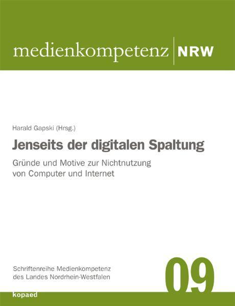 Jenseits der digitalen Spaltung - Coverbild