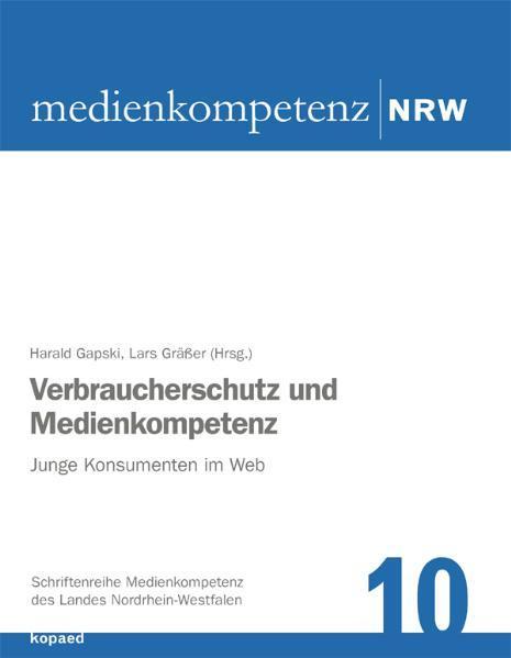 Verbraucherschutz und Medienkompetenz - Coverbild