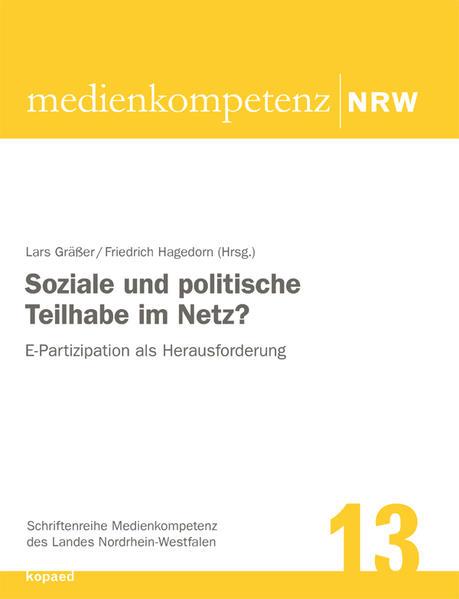 Soziale und politische Teilhabe im Netz? - Coverbild