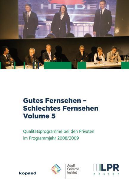 Gutes Fernsehen - Schlechtes Fernsehen vol 5 - Coverbild