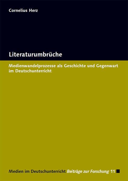 Literaturumbrüche - Coverbild