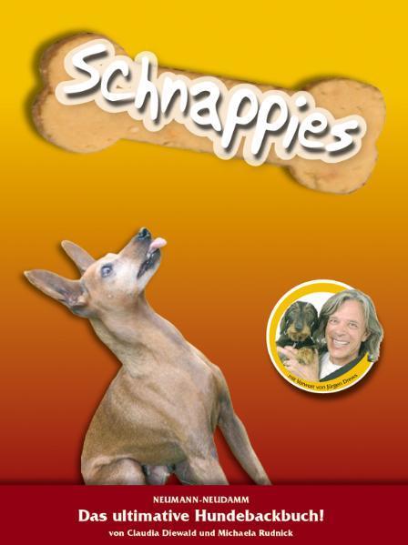 Schnappies - das ultimative Hundebackbuch - Coverbild