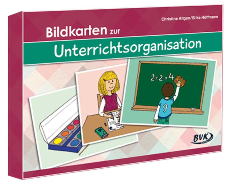 Bildkarten zur Unterrichtsorganisation - Coverbild