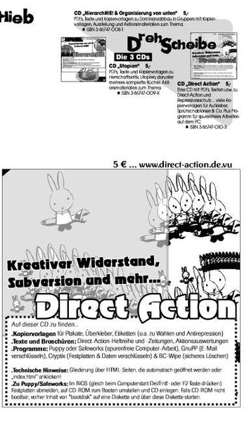 Direct Action CD - Coverbild