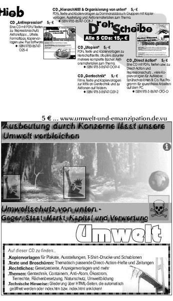 Umwelt CD - Coverbild