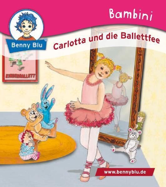 Bambini Carlotta und die Ballettfee - Coverbild