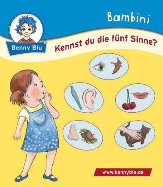 Bambini Kennst du die fünf Sinne? - Coverbild
