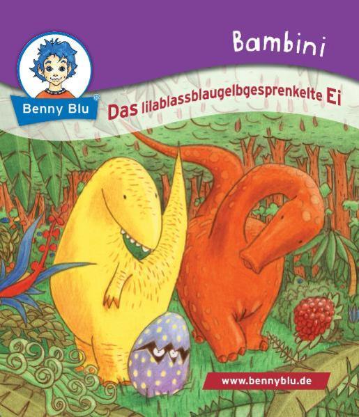 Bambini Das lilablassblaugelbgesprenkelte Ei - Coverbild
