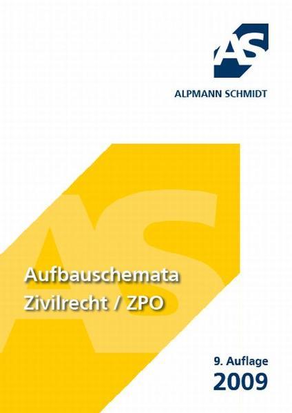 Aufbauschemata Zivilrecht / ZPO - Coverbild