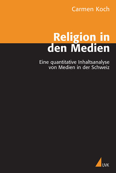 Religion in den Medien - Coverbild