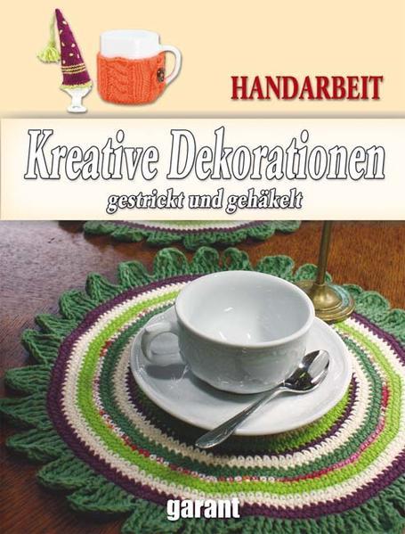 Gestrickte Dekorationen - Coverbild
