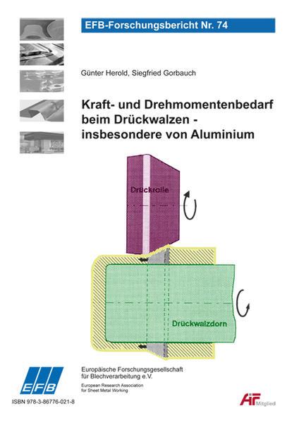 Kraft- und Drehmomentenbedarf beim Drückwalzen, insbesondere von Aluminium - Coverbild