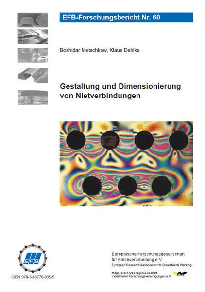 Gestaltung und Dimensionierung von Nietverbindungen - Coverbild