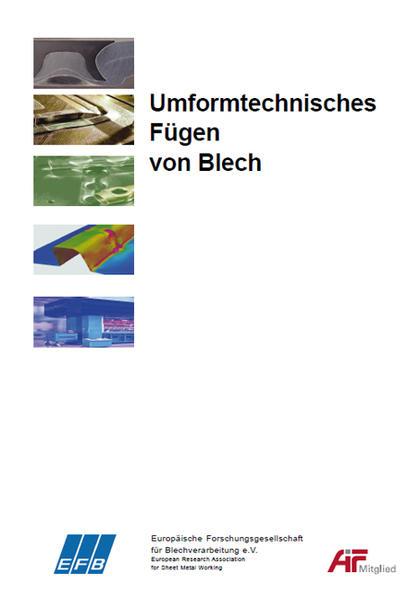 Umformtechnisches Fügen von Blech - Coverbild