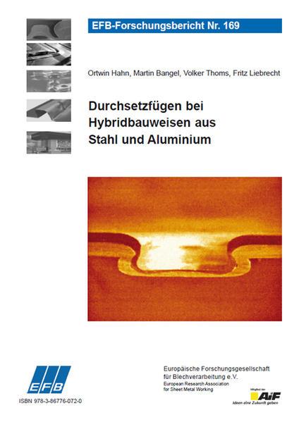 Durchsetzfügen bei Hybridbauweisen aus Stahl und Aluminium - Coverbild