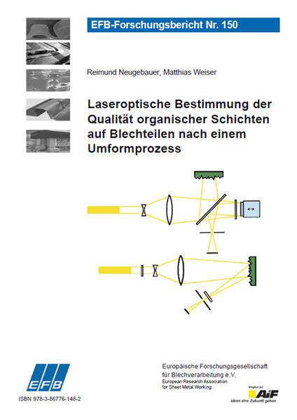 Laseroptische Bestimmung der Qualität organischer Schichten auf Blechteilen nach einem Umformprozess - Coverbild