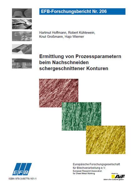 Ermittlung von Prozessparametern beim Nachschneiden schergeschnittener Konturen - Coverbild