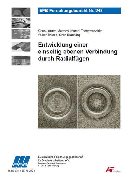 Entwicklung einer einseitig ebenen Verbindung durch Radialfügen - Coverbild