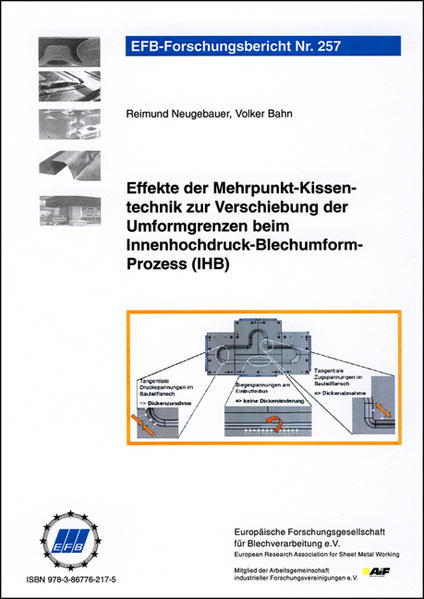 Effekte der Mehrpunkt-Kissentechnik zur Verschiebung der Umformgrenzen beim Innenhochdruck-Blechumform-Prozess (IHB) - Coverbild