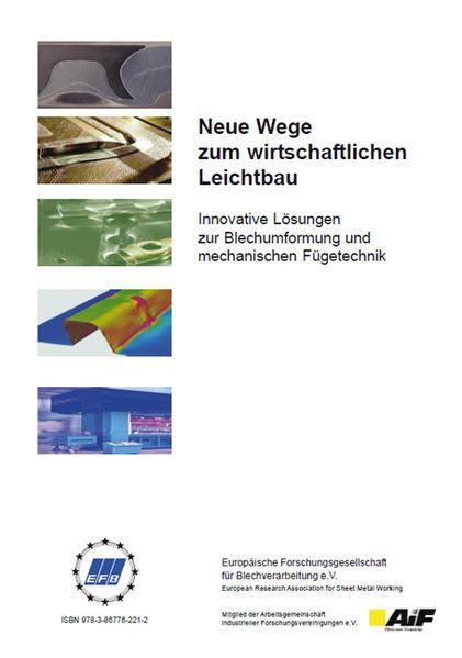 Neue Wege zum wirtschaftlichen Leichtbau - Coverbild