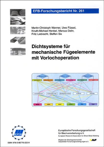 Dichtsysteme für mechanische Fügeelemente mit Vorlochoperation - Coverbild