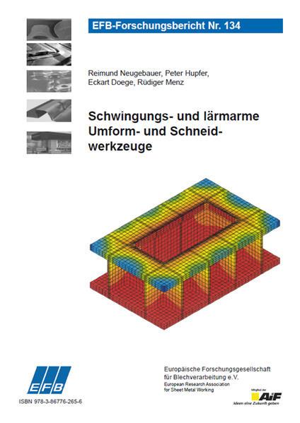 Schwingungs- und lärmarme Umform- und Schneidwerkzeuge - Coverbild