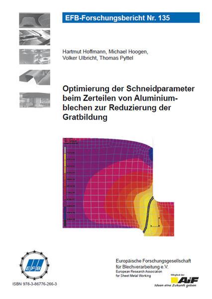 Optimierung der Schneidparameter beim Zerteilen von Aluminiumblechen zur Reduzierung der Gratbildung - Coverbild
