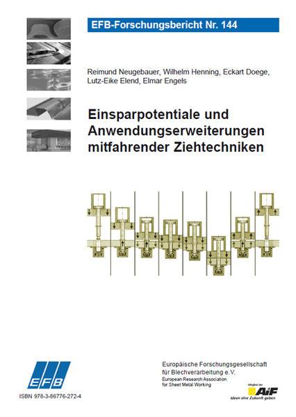 Einsparpotentiale und Anwendungserweiterungen mitfahrender Ziehtechniken - Coverbild