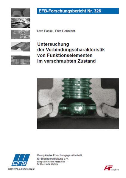Untersuchung der Verbindungscharakteristik von Funktionselementen im verschraubten Zustand - Coverbild