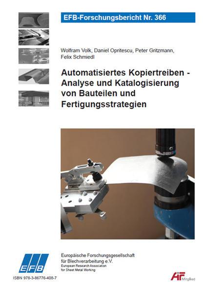 Automatisiertes Kopiertreiben - Analyse und Katalogisierung von Bauteilen und Fertigungsstrategien - Coverbild