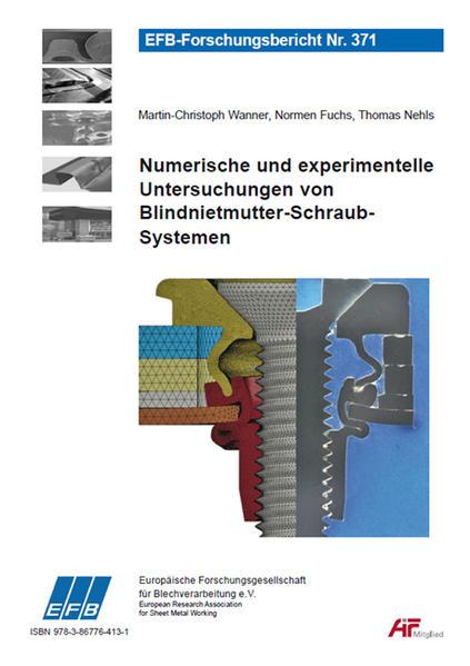 Numerische und experimentelle Untersuchungen von Blindnietmutter-Schraub-Systemen - Coverbild
