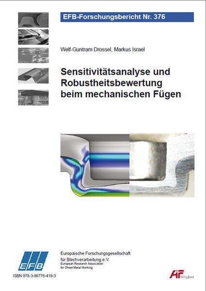 Sensitivitätsanalyse und Robustheitsbewertung beim mechanischen Fügen - Coverbild
