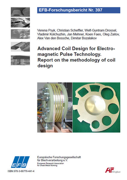 Advanced Coil Design for Electromagnetic Pulse Technology. Report on the methodology of coil design - Coverbild