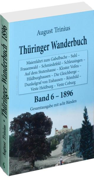 Thüringer Wanderbuch 1894 - Band 6 [von 8] - Coverbild
