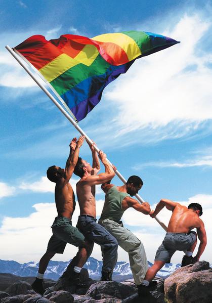 Blankbook - Gay Pride - Coverbild
