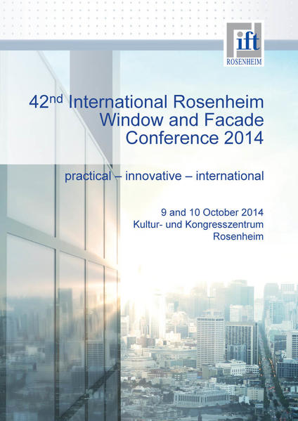 Conference Proceedings RFT 2014 - Coverbild