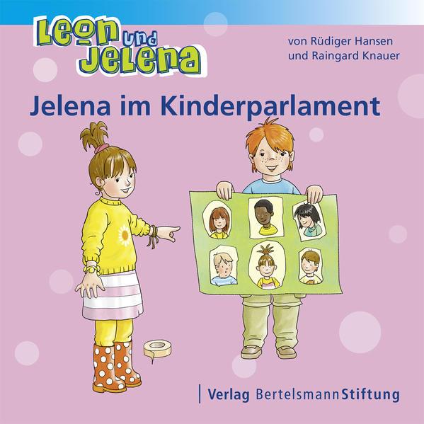Leon und Jelena - Jelena im Kinderparlament - Coverbild