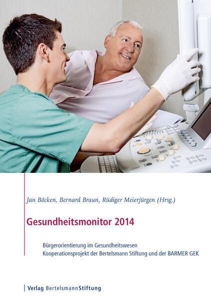 Gesundheitsmonitor 2014 - Coverbild