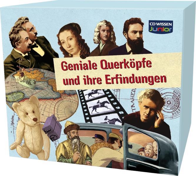 CD WISSEN Junior - Geniale Querköpfe und ihre Erfindungen - Coverbild